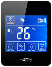 Smartphone Type Thermostats